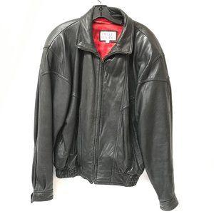 Pelle Studio Coat Leather Jacket Size Large Vtg